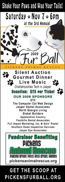 Pickens Animal Rescue Annual Fur Ball Fundraiser